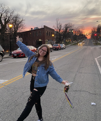Photograph of Becca Roberts